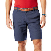 Dockers® Flat-Front Straight-Fit Shorts