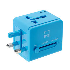Lewis N. Clark® Global Adapter with USB Charger