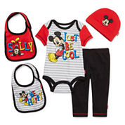 5-pc. Mickey Mouse Clothing Set - Baby Boys newborn-24m