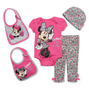5-pc. Minnie Mouse Clothing Set - Baby Girls newborn-24m
