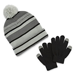 Weatherproof Hat & Glove Set - Boys 8-20