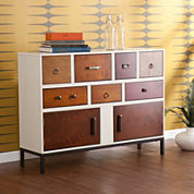 Royce 7-Drawer Console Table