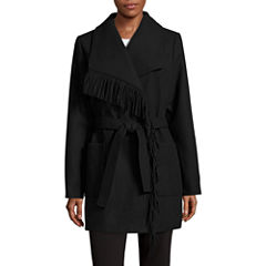 KC Collections Coat with Fringe