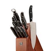 J.A. Henckels 12-pc. Knife Block Set