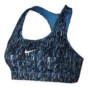 Nike® Screen Fuzz Victory Compression Sports Bra