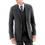 J.Ferrar Slim Fit Suit Jacket - Charcoal