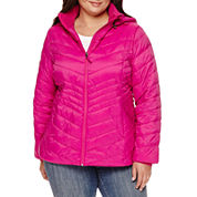 Xersion™ Packable Puffer Jacket-Plus