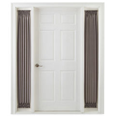 Royal Velvet® Plaza Thermal Interlined Rod-Pocket Sidelight Panel