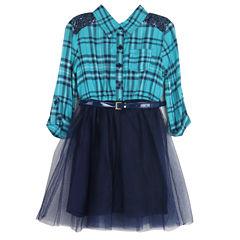 Lilt Sleeveless Tutu Dress - Preschool Girls