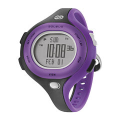 Soleus Chicked Womens Black Digital Running Watch