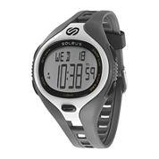 Soleus Dash Mens Gray Digital Running Watch