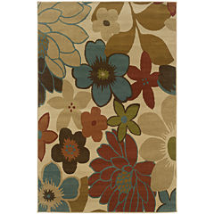 Covington Home Posies Rectangular Rug