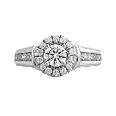 Opulent Diamond 1¼ CT. T.W. Certified Diamond 14K White Gold Ring