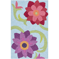 Loloi Flower Rectangular Rug