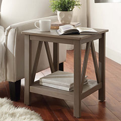 Titian Square End Table