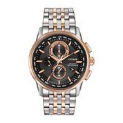 Citizen® Eco-Drive® World Chronograph A-T Mens Watch AT8116-57E