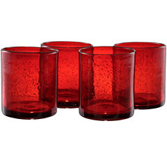 Iris Set of 4 Double Old-Fashioned Glasses