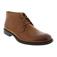 Deer Stags® Mean Mens Leather Desert Boots