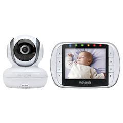 Motorola Wireless Color LCD Screen Baby Monitor