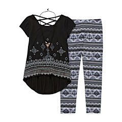 Knit Works 3-pc. Legging Set-Big Kid Girls