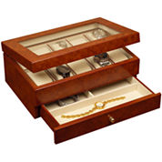 Oak Finish Watch Box