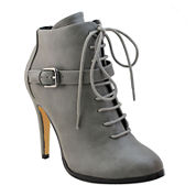 Michael Antonio Lucy Lace-Up Booties