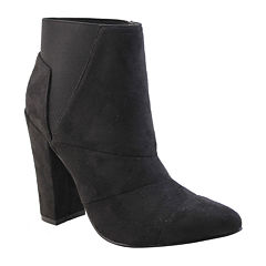Michael Antonio Louis-Sue Chunky-Heel Booties
