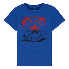 Converse Short-Sleeve Painted Patch Tee - Preschool Boys 4-7