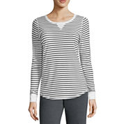 Made For Life Long Sleeve Scoop Neck T-Shirt-Talls
