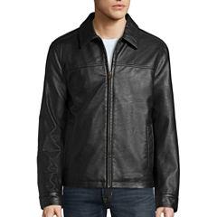 Dockers® Faux Leather Laydown Collar
