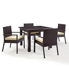 Palm Harbor Wicker 5-pc. Patio Dining Set