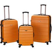 Rockland Melbourne 3-pc. Luggage Set