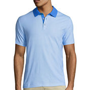 Claiborne® Short-Sleeve Stretch Polo