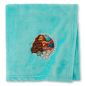 Moana Fleece Throw