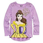 Disney Apparel by Okie Dokie® Long-Sleeve Princess Tee - Toddler Girls 2t-5t