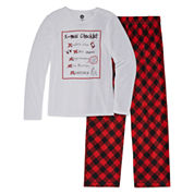 Total Girl 2-pc. X-Mas Checklist Gift Set - Girls 7-16 and Plus