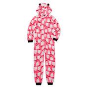 Total Girl Cat Fleece Blanket Sleeper - Big Kid & Plus
