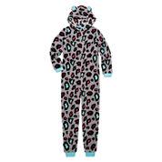 Total Girl Leopard Fleece Blanket Sleeper - Girls 7-16