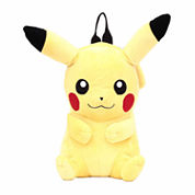 Pokemon Pikachu Plush Backpack- Boys One Size