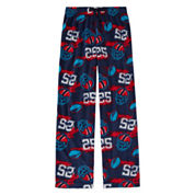 Arizona Microfleece Football Pajama Pant- Boys 4-20, Husky