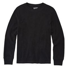 Arizona Long-Sleeve Solid Thermal Shirt - Boys 8-20 and Husky