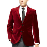 JF J. Ferrar® Velvet Sport Coat - Slim Fit
