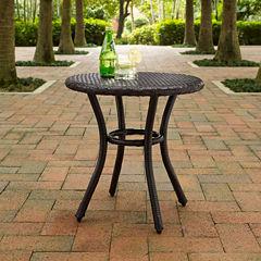 Crosley Palm Harbor Wicker Patio Side Table