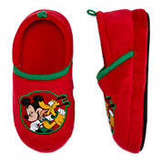 Disney Collections Mickey Mouse Holiday Slippers - Boys