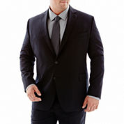 Stafford® Executive Super 100 Wool Suit Jacket–Big & Tall - Black