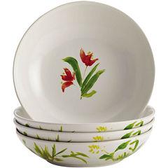 BonJour® Meadow Rooster Set of 4 Fruit Bowls