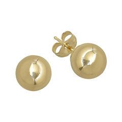 Infinite Gold™ 14K Yellow Gold 5mm Ball Stud Earrings