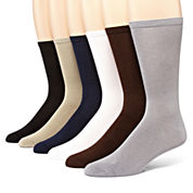 MUK LUKS® 6-pk. Men's Dress Socks