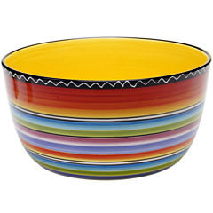Certified International Tequila Sunrise Deep Serving Bowl