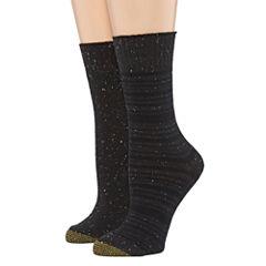 Gold Toe® 2-pk. Stripe Boot Crew Socks